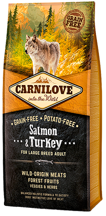 Carnilove Salmon Large Breed Dogs 12kg