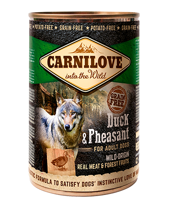 Carnilove Duck & Phesant Wet Dog Food 400g x 6
