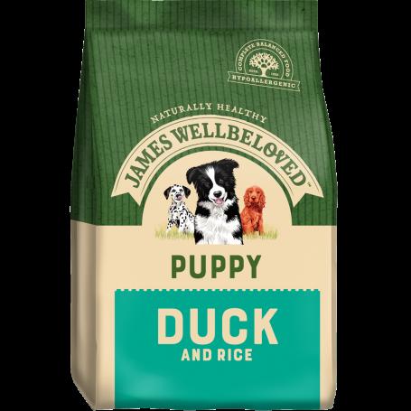 James Wellbeloved Puppy Duck & Rice 7.5kg