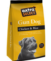 Extra Select Gun Dog Food with Chicken & Rice 15kg