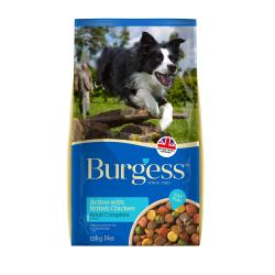 Burgess Active Dog Food Chicken and Beef