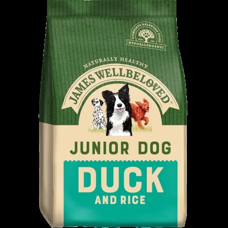 James Wellbeloved Junior Duck & Rice 2kg