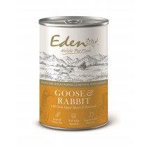 Eden Wet Dog Food Gourmet Goose & Rabbit 6 x 400g