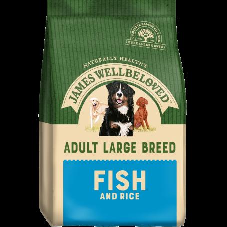 James Wellbeloved Large Breed Fish & Rice Adult 4kg