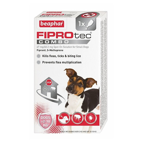 Fiprotec Combo Flea & Tick Small Dog  x 1