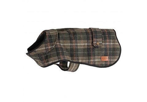 Heritage Green Check Dog Coat