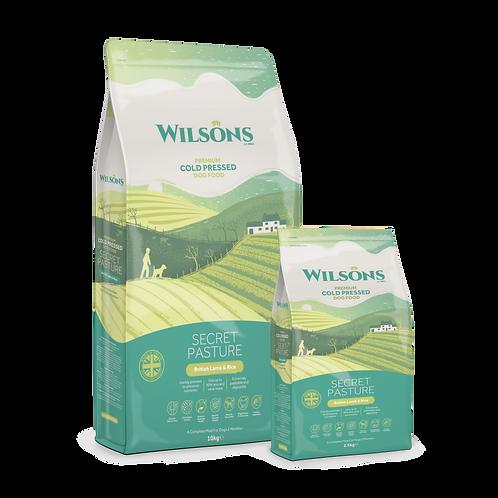 Wilsons Secret Pasture Lamb & Brown Rice Cold Pressed