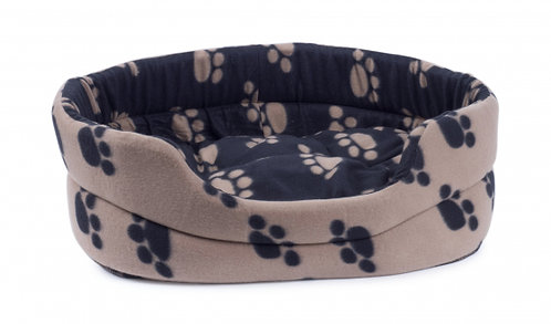 Archies Reversible Oval Dog Bed