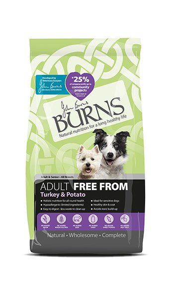 Burns Free From Turkey & Potato Adult