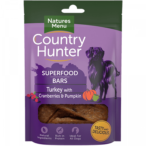 Country Hunter Superfood Bar Turkey 100g
