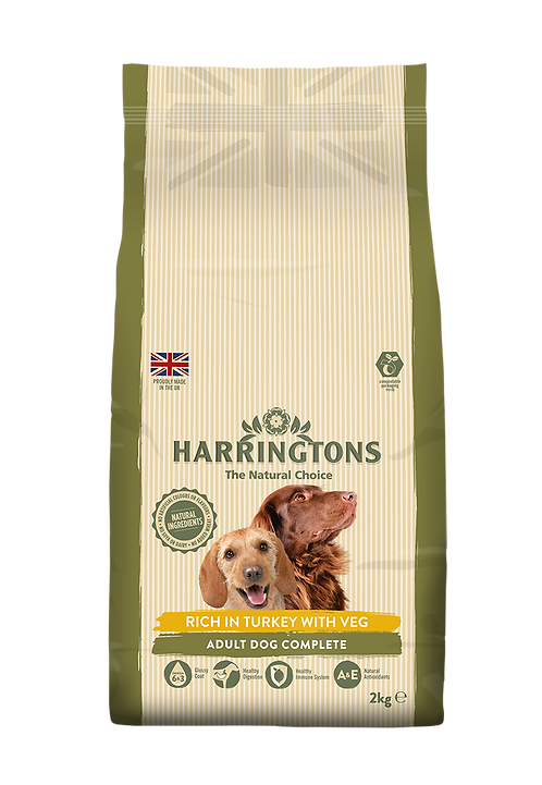 Harringtons Dog Food Turkey & Veg