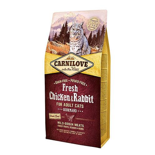 Carnilove Fresh Chicken & Rabbit Cat Food