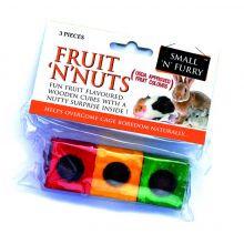 Small 'N' Furry Fruit 'N' Nut Chew