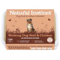 Natural Instinct Working Dog Beef & Chicken