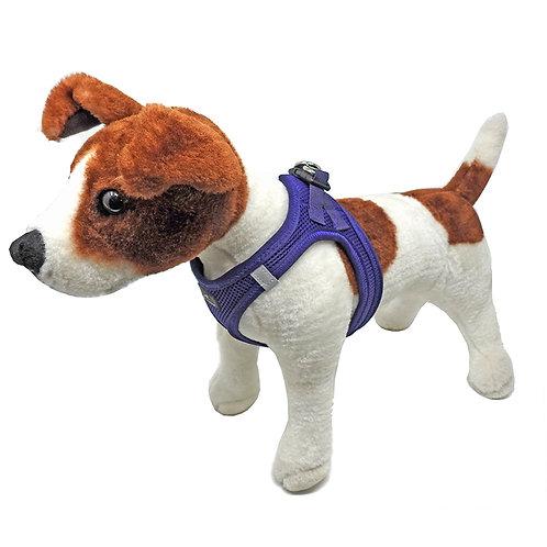 Miro & Makauri Step In Mesh Dog Harness Purple