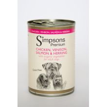 Simpsons Dog Food Chicken, Herring & Salmon Casserole
