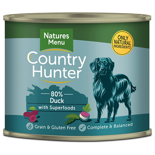Country Hunter Succulent Duck Dog Food 600g
