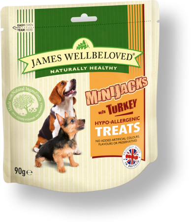 James Wellbeloved Crackerjacks Turkey Small 90g
