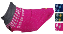 Canine & Co - The Dougal Fairisle Dog Jumper