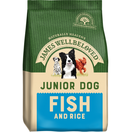 James Wellbeloved Junior Fish & Rice 15kg
