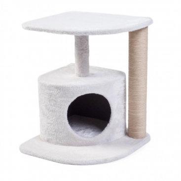 Petface Corner Cat Scratcher Cream