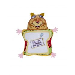 Fluffy Snack Bar Grilled Hamster & Cheese Cat Toy