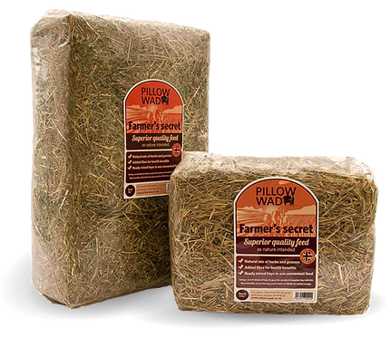 Pillow Wad Farmers Hay Mix 2kg