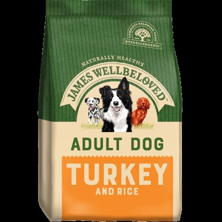 James Wellbeloved Adult Turkey & Rice 7.5kg