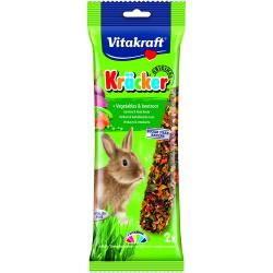 Vitakraft Rabbit Kracker Vegetable & Beetroot x 5 packs of 2