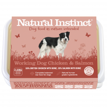 Natural Instinct Working Dog Salmon & Chicken