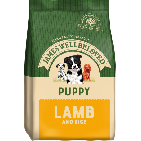 James Wellbeloved Puppy Lamb & Rice 7.5kg