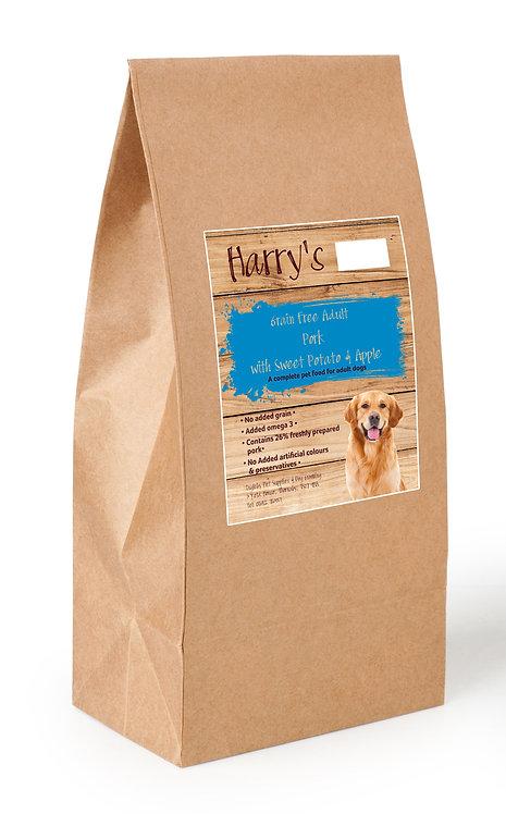 Harry's Grain Free Dog Food Pork with Sweet Potato & Apple 12kg