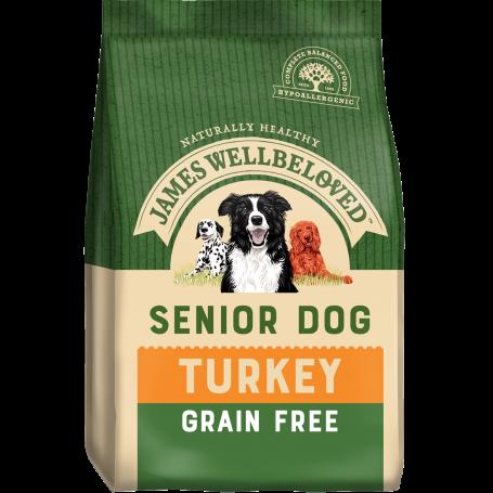 James Wellbeloved Senior Grain Free Turkey & Veg 1.5kg