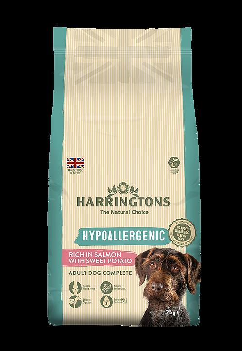 Harringtons Grain Free Dog Food Salmon 2kg