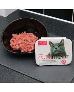 Nutriment Dinner For Cats Beef 200g