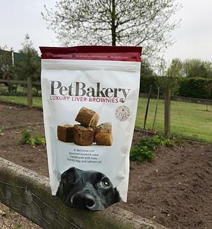 Pet Bakery Liver Brownies 190g