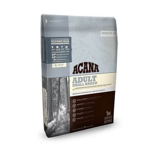 Acana Small Breed Adult Dog Food 2kg