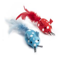 Ancol Polka Mouse Cat Toy