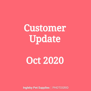Customer Update - Oct 2020