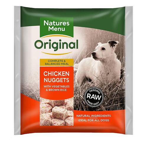 Natures Menu Frozen Nuggets Chicken 1kg