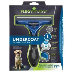 FURminator Tool Long Hair Large Dog