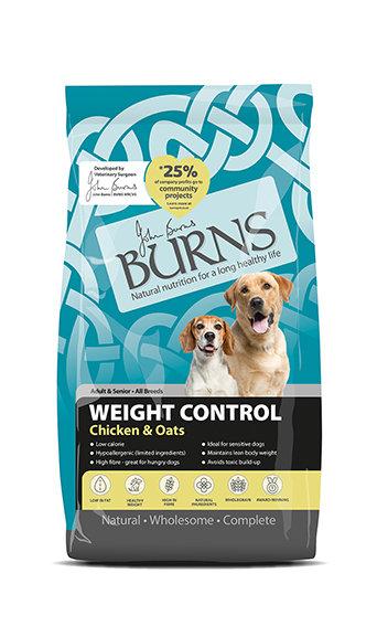 Burns Weight Control Chicken & Oats Dog Food 2kg