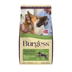 Burgess Sensitive Adult Dog Food Lamb & Rice