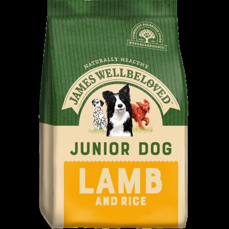 James Wellbeloved Junior Lamb & Rice 15kg