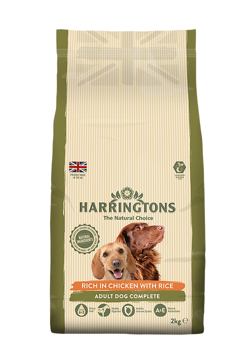Harringtons Dog Food Chicken & Rice 2kg