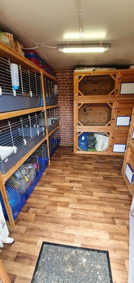 Purpose built indoor accommodation