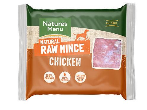 Natures Menu Frozen Minced Chicken 12 x 400g