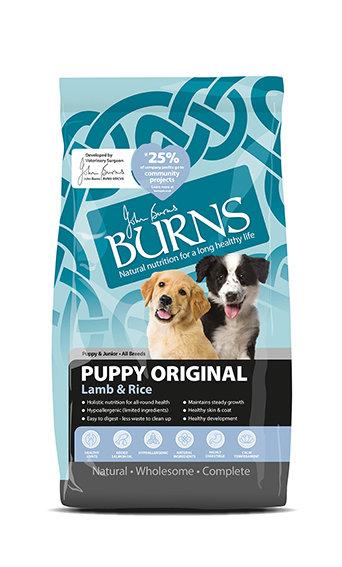 Burns Puppy Original Lamb Dog Food 2kg