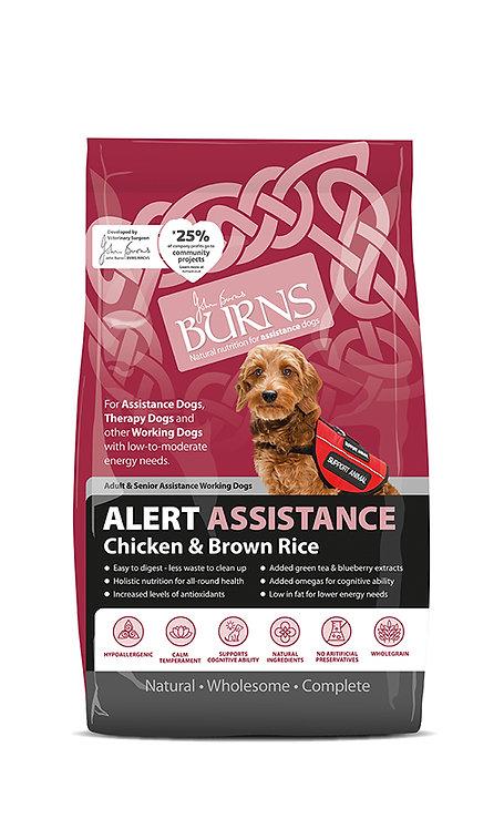 Burns Alert Chicken & Brown Rice Dog Food 6kg