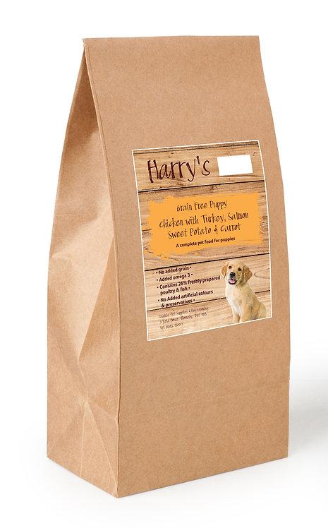 Harry's Grain Free Puppy Food Chicken, Sweet Potato & Carrot 2kg